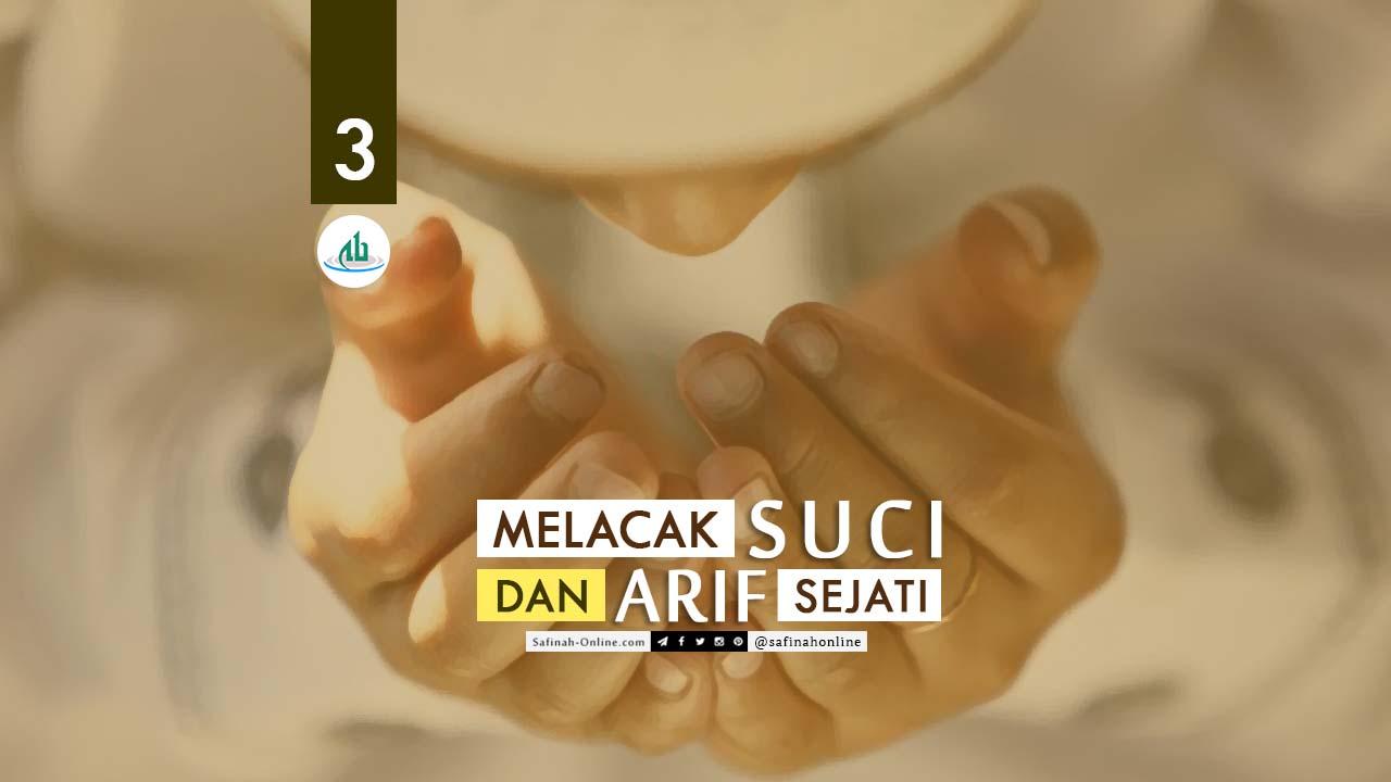 Melacak, Sufi, Arif, Sejati, Teman