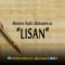 """Mutiara Hadis Maksumin as: """"Lisan"""""""