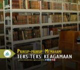 Prinsip-prinsip Memahami Teks-teks Keagamaan