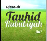 Tauhid Rububiyah
