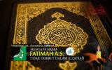 Mengapa Nama Fatimah a.s. Tidak Disebut dalam Alquran?