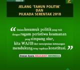 Suara DS Jelang 'Tahun Politik' dan Pilkada Serentak 2018 (II)