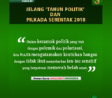 Suara DS Jelang 'Tahun Politik' dan Pilkada Serentak 2018 (III)
