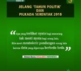 Suara DS Jelang 'Tahun Politik' dan Pilkada Serentak 2018 (V)