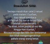Salat Malam 1 Sya'ban
