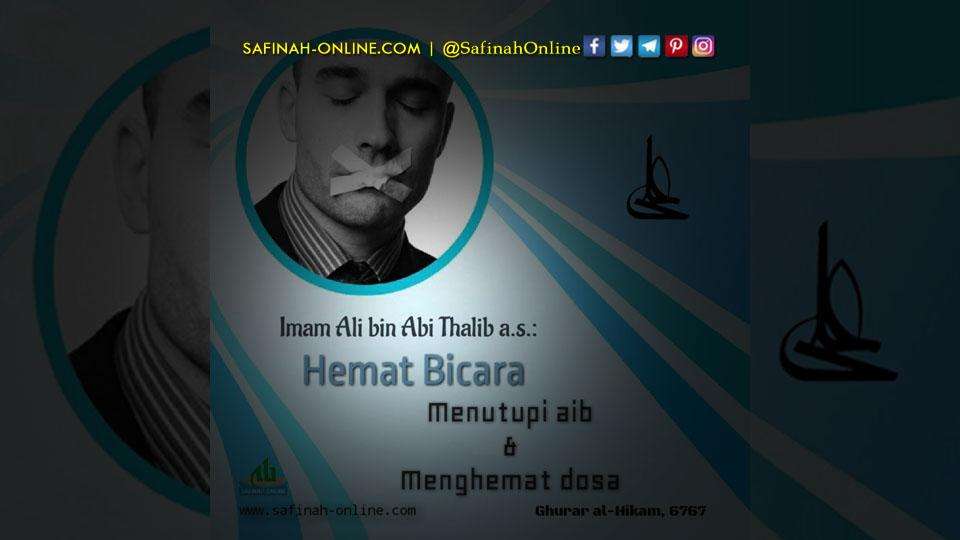 #SafinahQuote: Hemat Bicara
