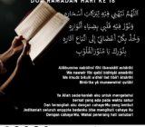 Doa Ramadan Hari Ke-18