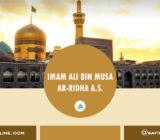 SafinahQuote: Profil Imam Ali ar-Ridha A.S.