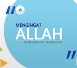 SafinahQuote: Mengingat Allah