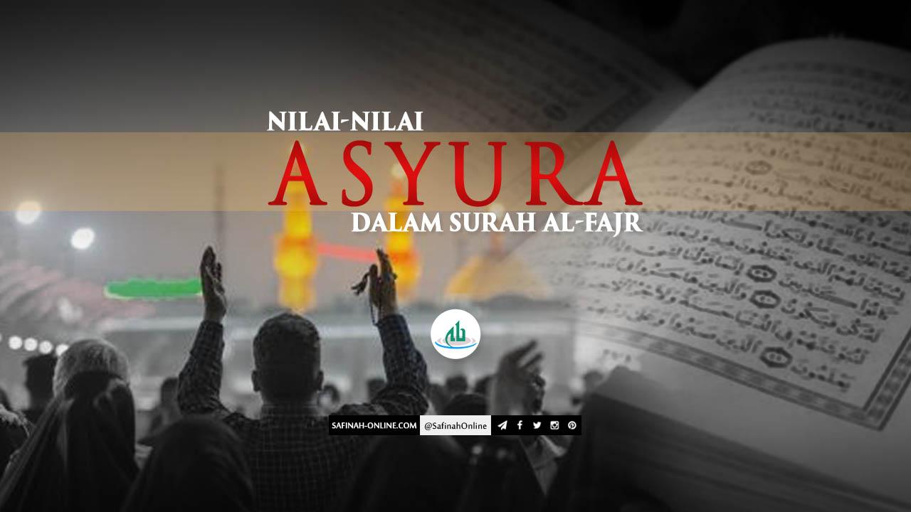 Nilai, Asyura, Al-Fajr