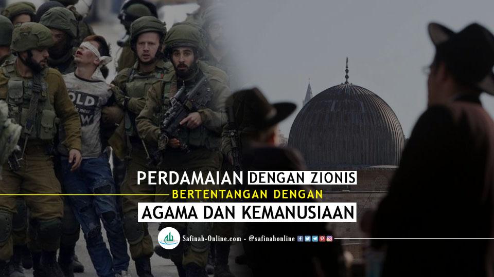 Perdamaian dengan Zionis Bertentangan dengan Agama dan Kemanusiaan