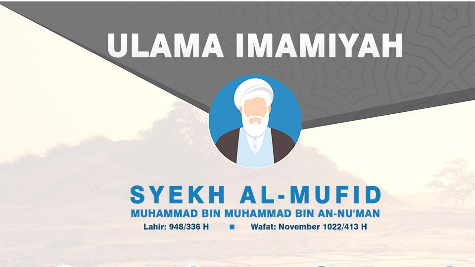 Infografis Ulama Imamiyah: Syekh Al-Mufid