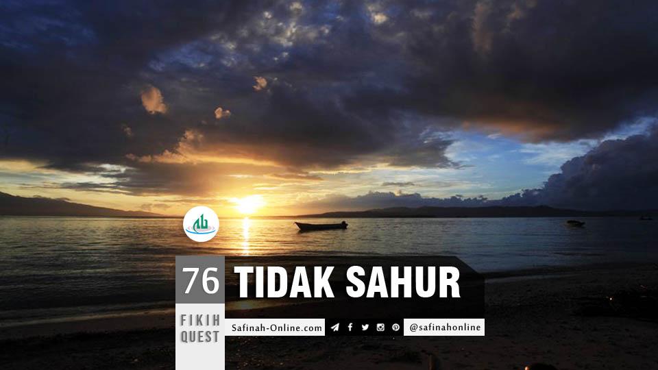 Niat, Puasa, Ramadhan, Sahur