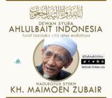 Turut Berduka Cita atas Wafatnya KH. Maimoen Zubair