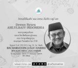 Dewan Syura ABI Berbelasungkawa atas Berpulangnya Prof. B.J. Habibie