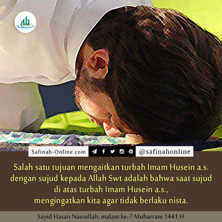 Turbah, Imam Husein,