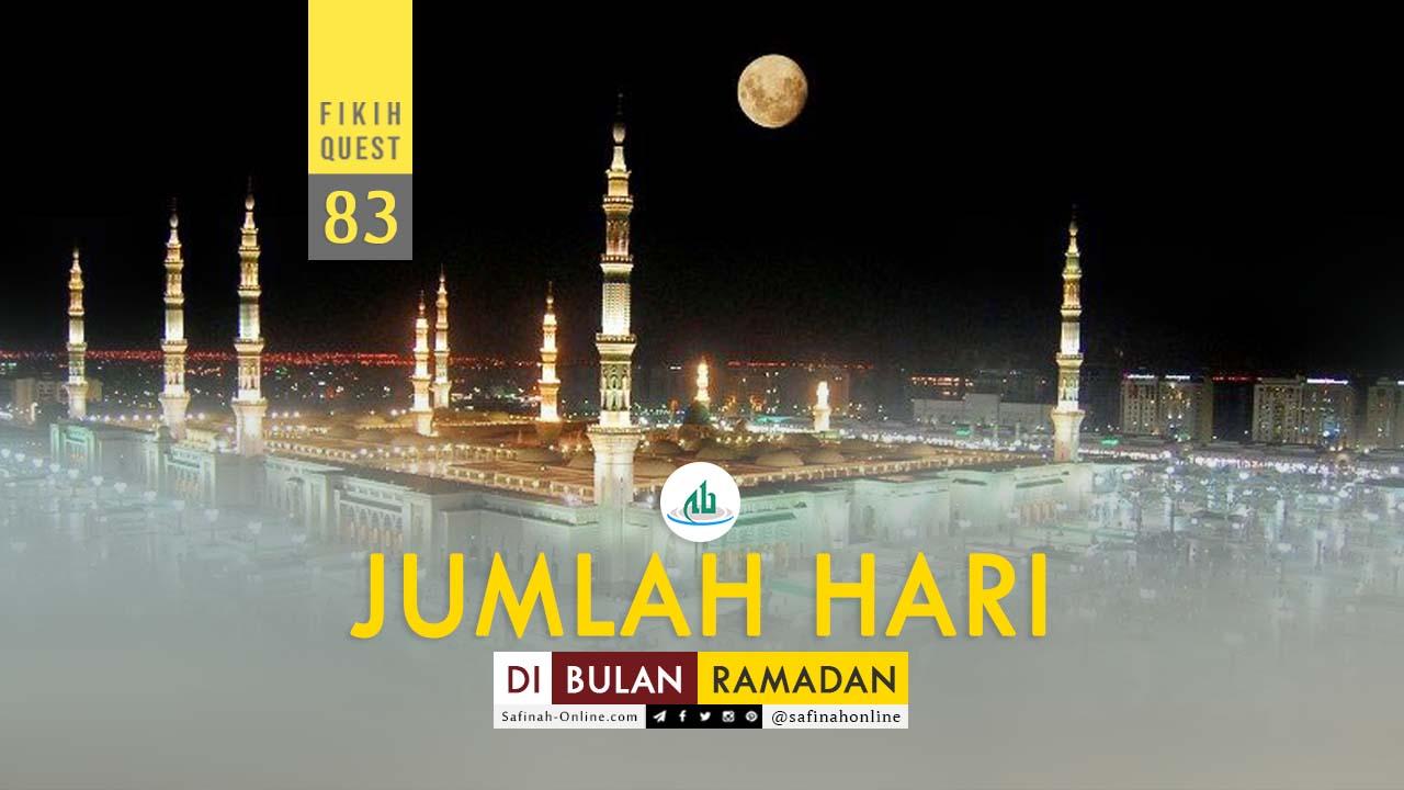 Jumlah Hari, Bulan, Ramadan, Hilal