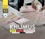 Khumus, Uang, Simpanan