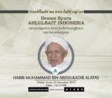 Dewan Syura ABI Berbelasungkawa atas Berpulangnya Habib Muhammad bin Abdulkadir Alatas