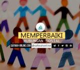 SafinahQuote: Memperbaiki Hubungan Sosial