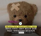 SafinahQoute: Terjaga Saat Malam Karena Sakit, Pahalanya Lebih Besar dari Pada Beribadah Setahun