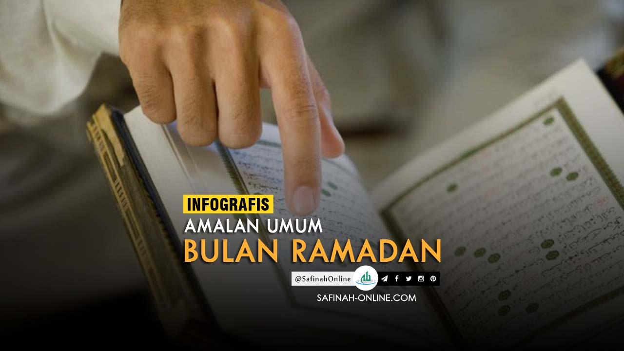 Infografis, Amalan Ramadan