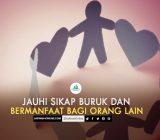 SafinahQoute: Jangan Bersikap Buruk dan Jadilah Berguna Bagi Sesama