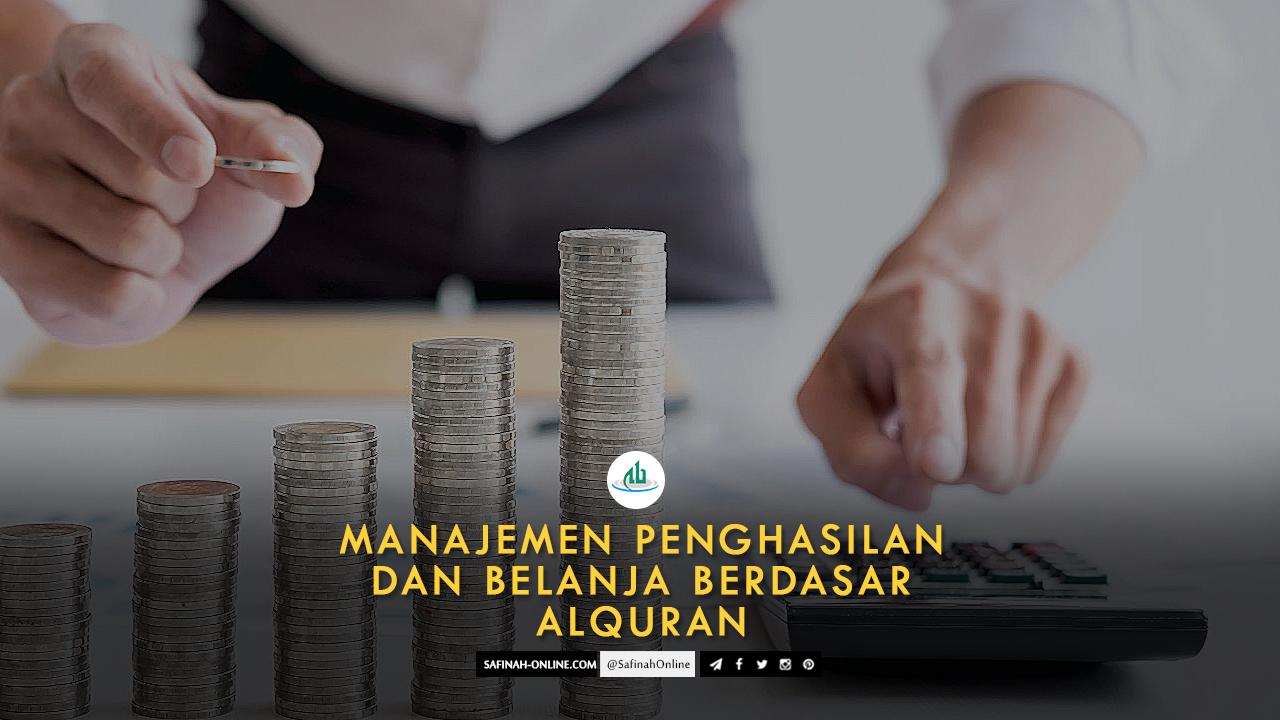 SafinahQoute: Manajemen Penghasilan dan Belanja berdasar Alquran