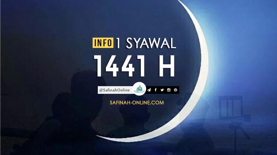 Info 1 Syawal 1441 H