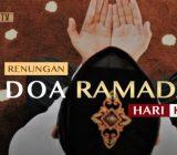 Video: Renungan Doa Ramadan Hari Ke-11 oleh Ustaz Abdullah Beik, M.A