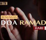 Video: Renungan Doa Ramadan Hari Ke-13 oleh Ustaz Abdullah Beik, M.A