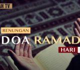 Vdeo: Renungan Doa Ramadan Hari Ke-15 oleh Ustaz Abdullah Beik, M.A