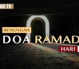 Video: Renungan Doa Ramadan Hari Ke-20 oleh Ustaz Abdullah Beik, M.A