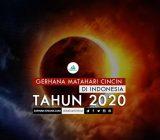Gerhana Matahari Cincin di Indonesia Tahun 2020