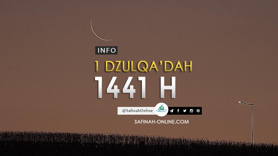 Info 1 Dzulqa'dah 1441 H