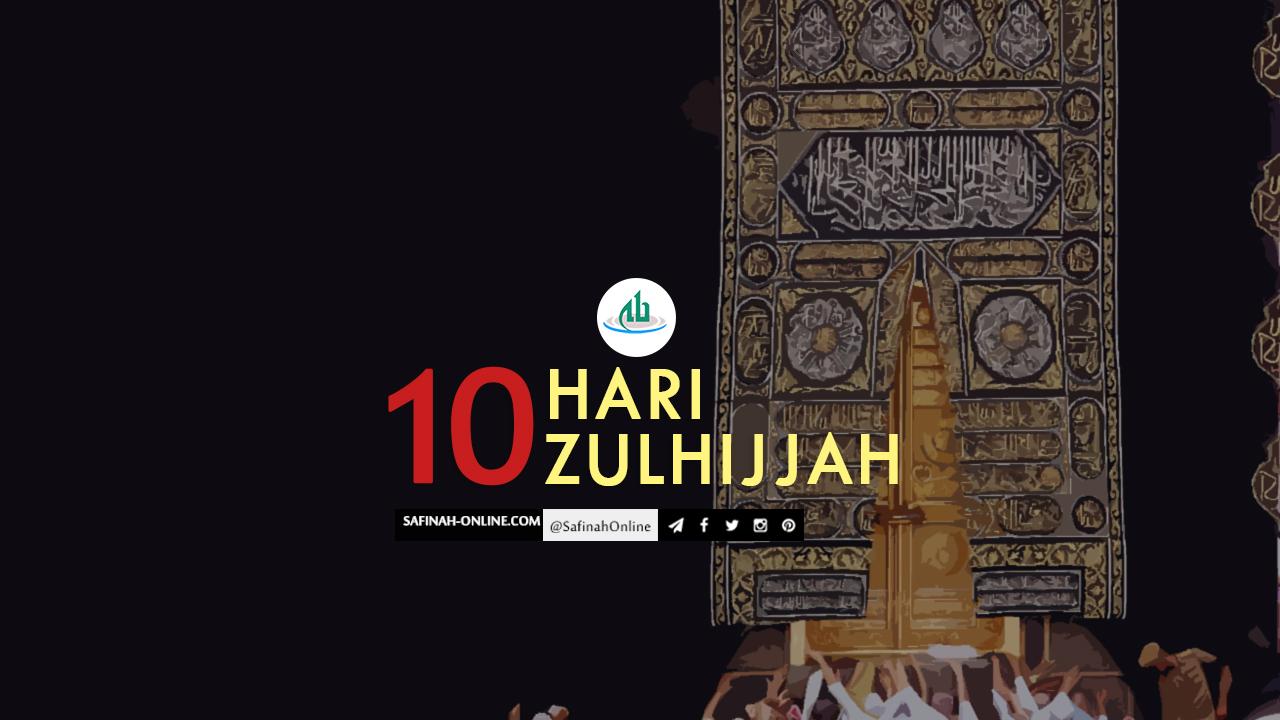 Infografis: Sepuluh Hari Zulhijjah