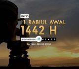 Info 1 Rabiul Awal 1442 H