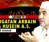 VIDEO: Peringatan Arbain Imam Husein a.s. Oleh DR. Umar Shahab, MA