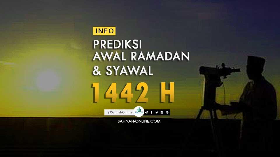 PREDIKSI AWAL RAMADAN & SYAWAL 1442 H