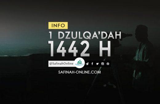 Info 1 Dzulqa'dah 1442 H