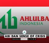 ABI DAN SENSE OF CRISIS