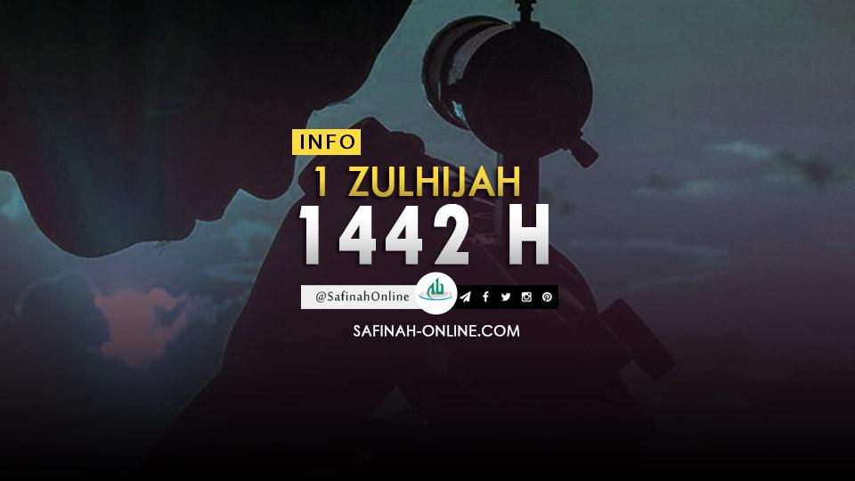Info 1 Zulhijah 1442 H