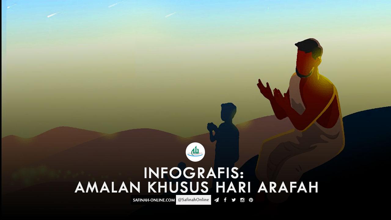 Infografis: Amalan Khusus Hari Arafah